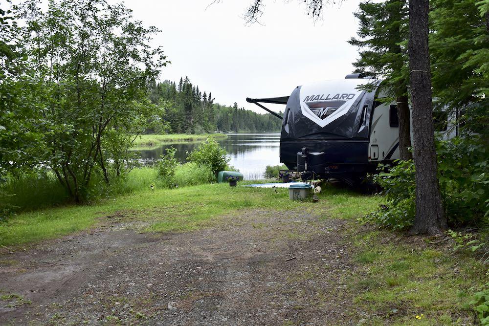 seasonal lease site at Okontoe