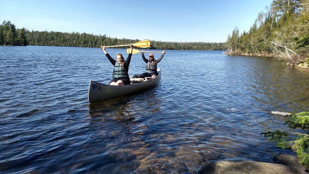 canoeing west bearskin